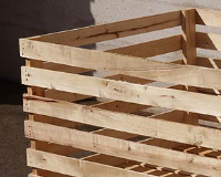 Box pallet containers