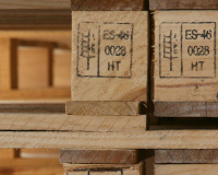 Treated pallets